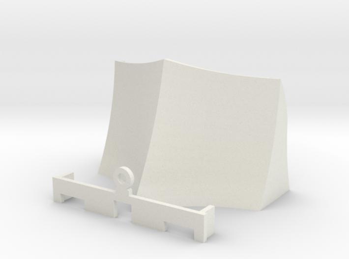 OO / HO Snowplough Type 3 Size 1 3d printed