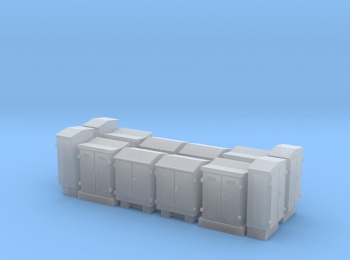 NS schakelkasten N scale 12 stuks 3d printed