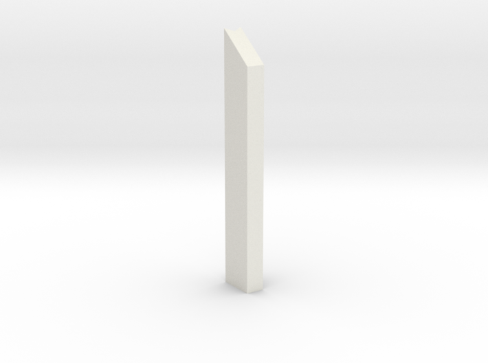 shkr002 - Teil 2 Stützmauer außen anliegend 3d printed