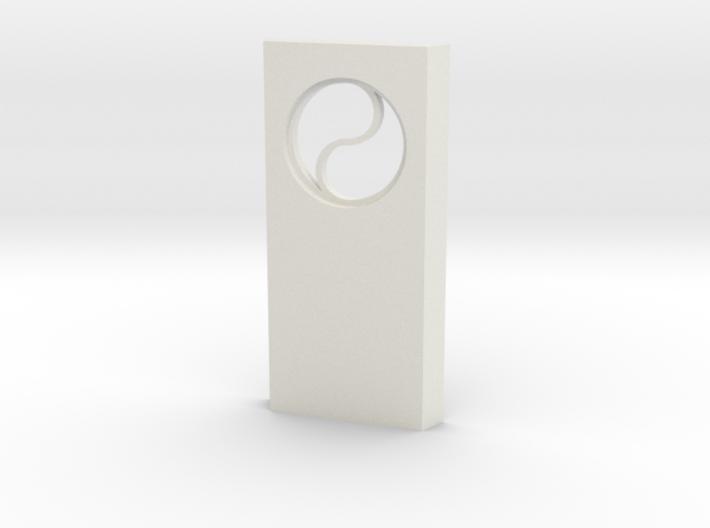 shkr030 - Teil 30 Seitenwand mit Fenster rund goti 3d printed
