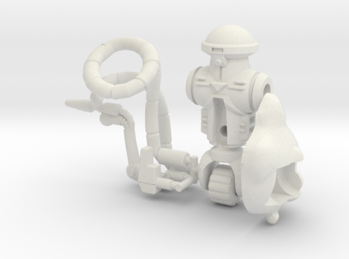 Roadkill Rodney Figure Kit 3d printed