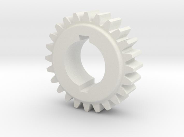 "24T Atlas/Craftsman 12"" lathe Change Gear 3d printed"
