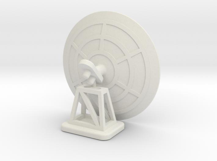 1/285th scale Radar set II (2 pieces) 3d printed