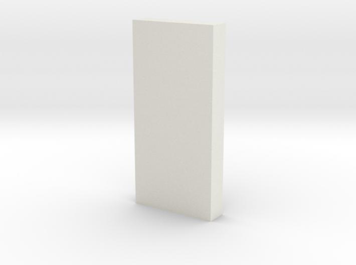shkr052 - Teil 52 Stützmauerpfeiler 1-3 Höhe 3d printed