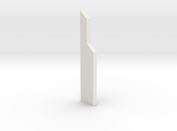 shkr050 - Teil 50 Stützmauerpfeiler voll Höhe 3d printed
