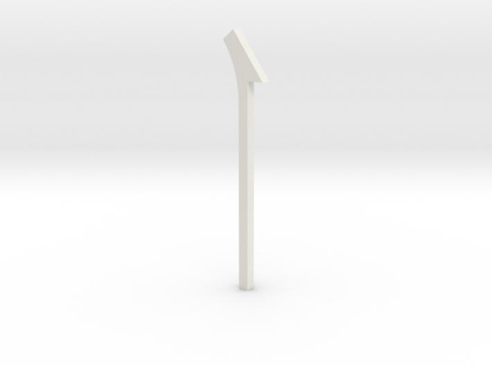 shkr064 - Teil 64 Dachstützbalken hoch mit Auskrag 3d printed