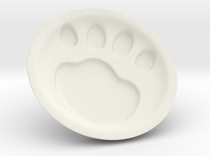 Cat soy sauce dish A2 3d printed