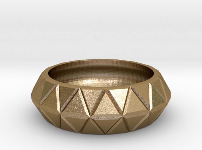 Tri Loop Ring 3d printed