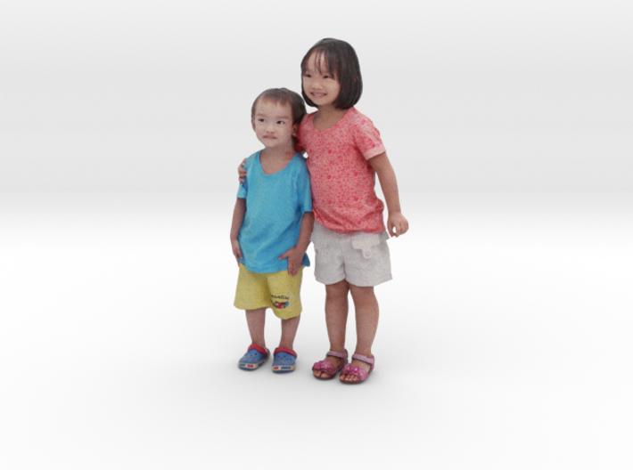 Scanned Children 10CM High 3d printed