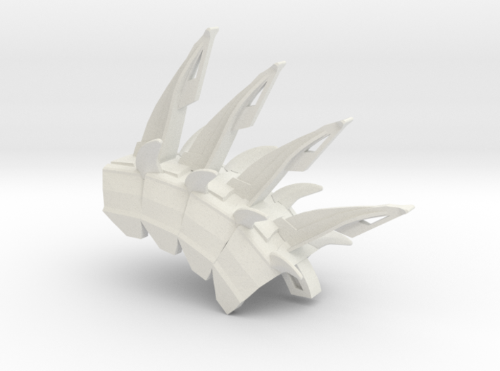 Limited Invulnerability spine 3d printed