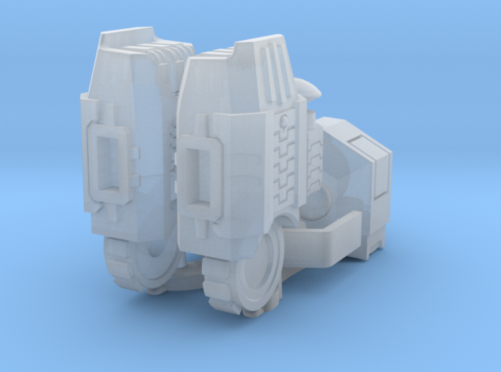 Enclave Arms T1 (poseable), 1/2/3/6/9 pairs 3d printed