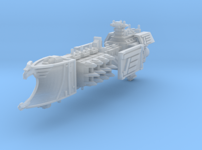 Defiant Light Cruiser 3d printed