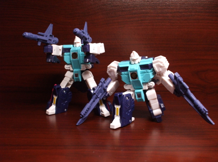 Electro-Burst Rifles for TR Wingspan 3d printed with Pounce & weapons