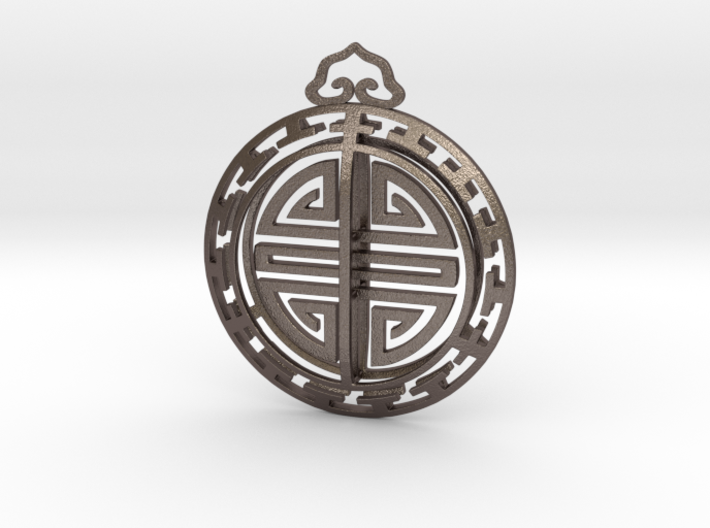 Chinese Lucky Charm 3d printed