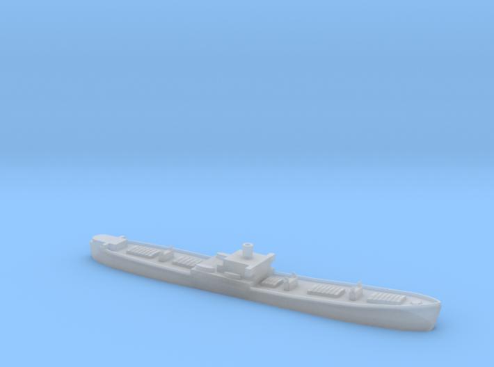 1/1200th scale WW2 Liberty ship 3d printed