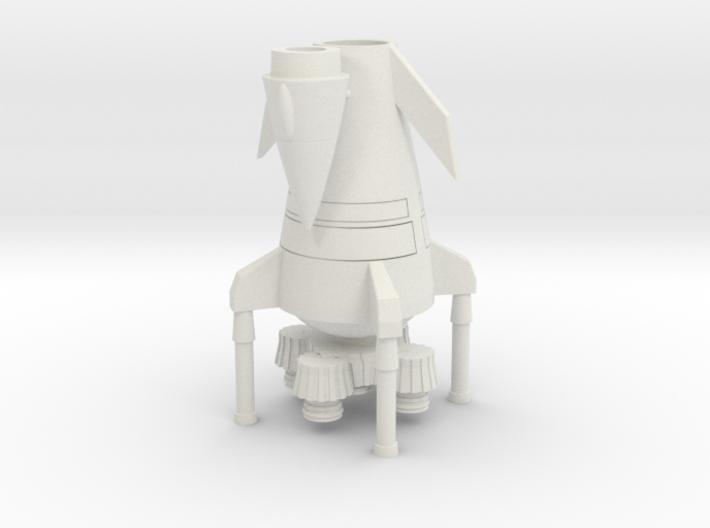 Larger Rocket landed (Middle Sized) 3d printed