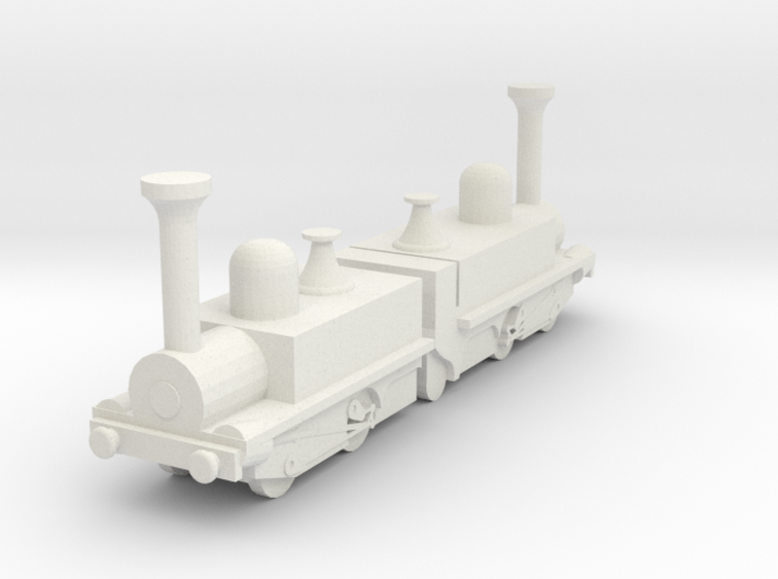 Mountain Locomotive MR. G. BELL 1I100 3d printed
