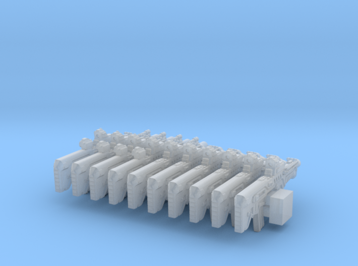 1/56 Bullpup Ctar-Gtar Tavor SET101 3d printed