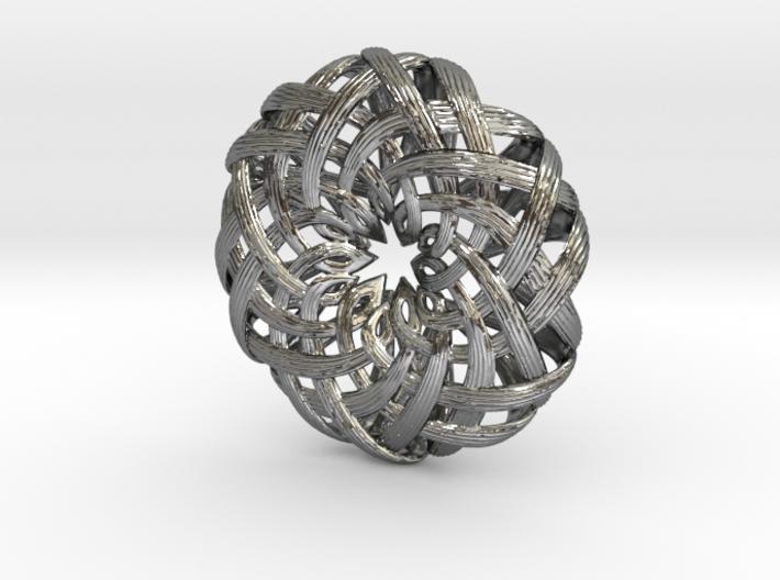 the Lotus Pendant  3d printed
