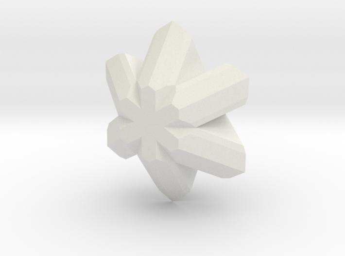 Chrysoberyl, 25 mm 3d printed