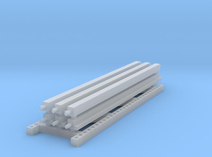 1/64 3 high 12ft PR Extension 3d printed