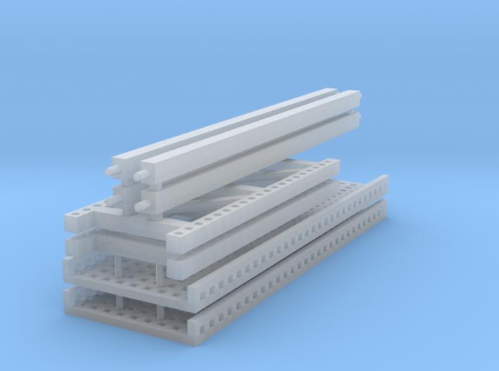 1/64 2 high 12ft PR mesh 3d printed