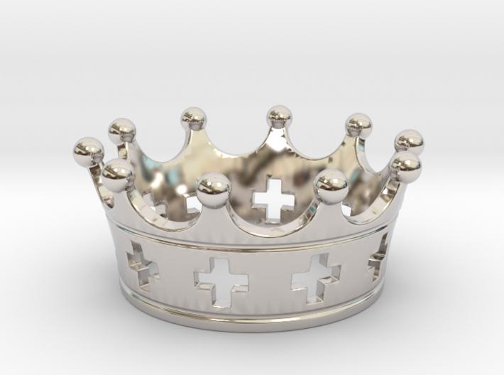Celtic crown 3d printed
