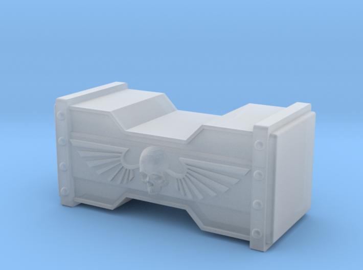Hammerhead with winged Skulls / Ver2 is bigger: 20 3d printed