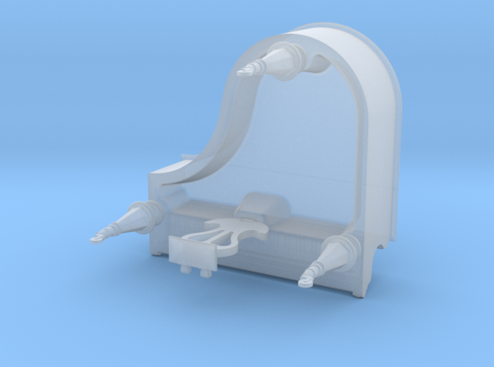 1/35th scale Piano 3d printed