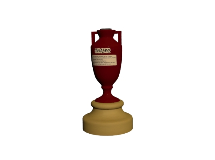 Ashes Cup 3d printed rendered image of ashes cup