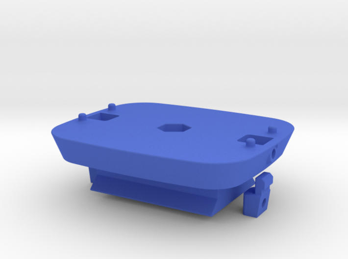 Locking Kinect mount with ARCA baseplate 3d printed