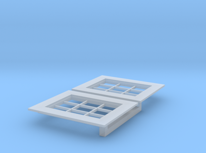 Larger Version Small Window - Wo Pieces Oct 2016 3d printed