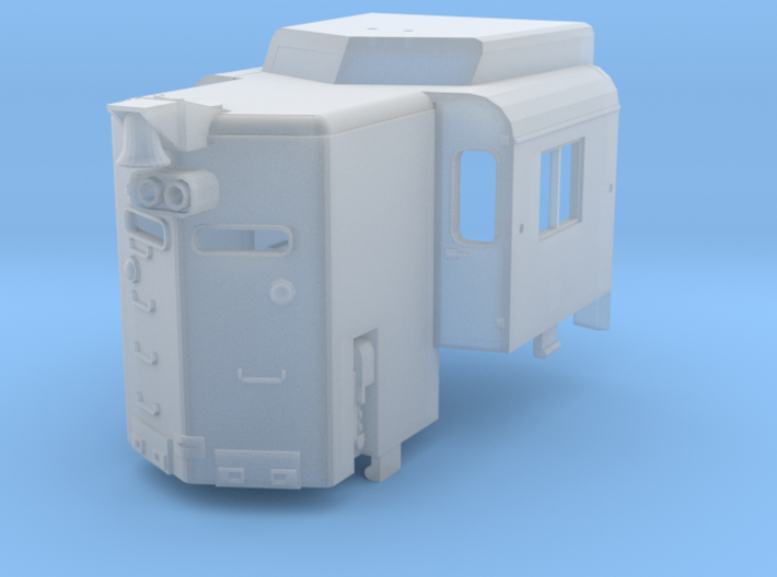 N-Scale High Hood Conversion for Kato GP30 3d printed