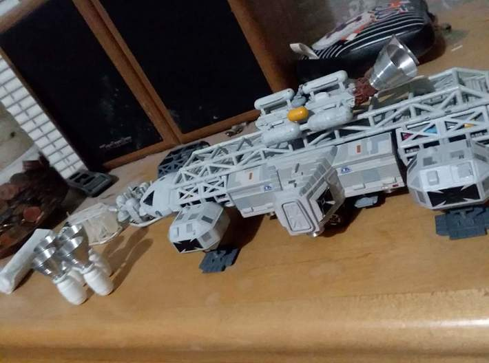 """Moongear set of four for 12"""" Eagle Kit! 3d printed"""