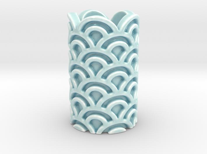 Wave Vase 3d printed