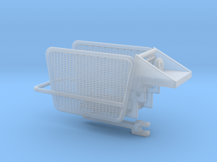 1/64 Small Square Baler Kicker Part #3 Version 2 3d printed