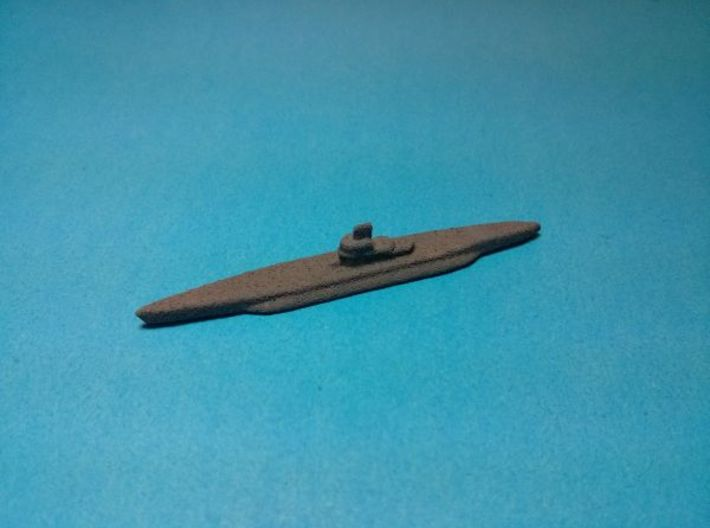 "Type XIV U-boat ""Milch Cow"" x3 1/1750 3d printed Painted in dark grey base coat. Models sold unpainted"