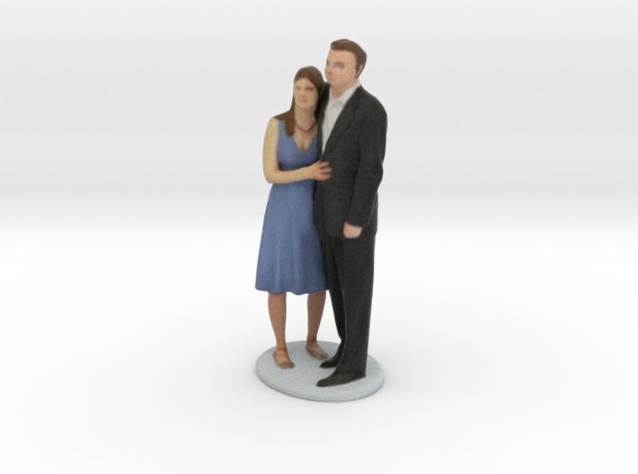 Steve & Sarah 3d printed