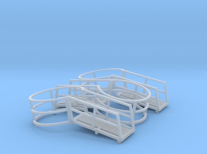 Harvestore Safety Ring (Set of 3) 3d printed