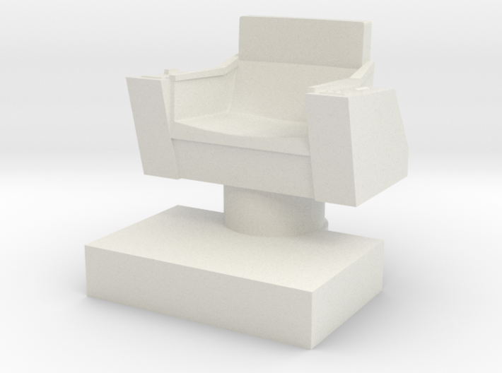 Captain's Chair, 32mm 3d printed