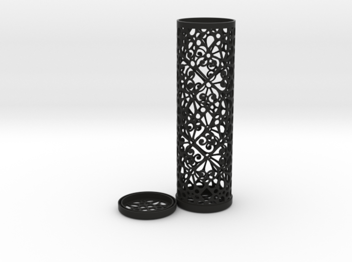 Filigree Gift roll XXL-size with Mosaic-3 (14 cm) 3d printed
