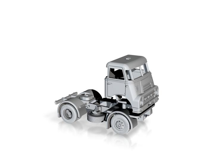 N-scale (1:160) DAF DO 2400 2x4 truck. 3d printed
