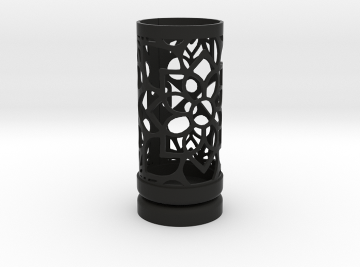 Filigree Gift roll small with Mosaic-2 (6 cm) 3d printed