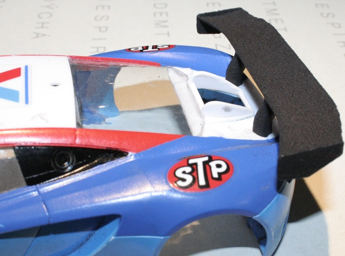 Kyosho Mini-z ASC McLaren 12C GT3 replacement Wing 3d printed