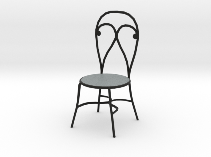 'Finer Fare' Chair 1:12 Dollhouse 3d printed