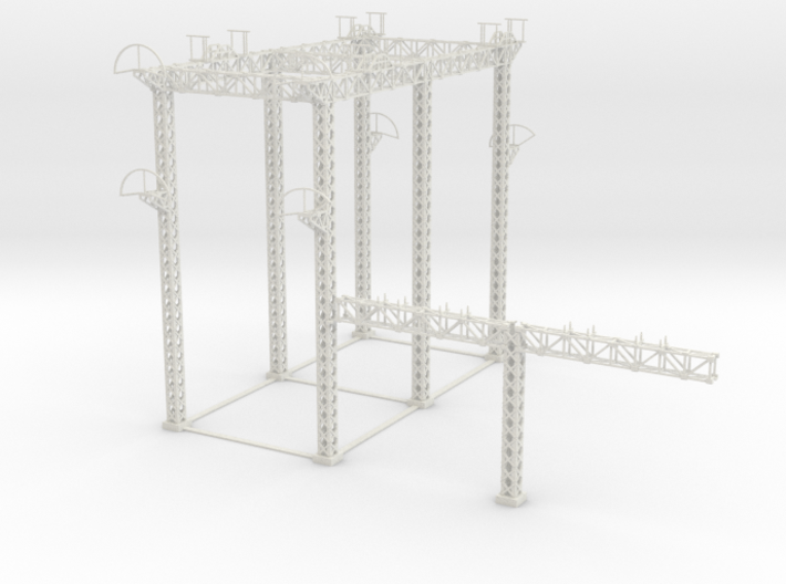LARGE PRR SUB STATION HO pt1 3d printed