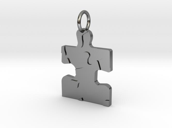 Autism puzzle piece pendant vz6uhs4jx by pjsterchele autism puzzle piece pendant 3d printed aloadofball Gallery