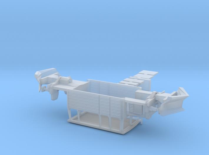 SNCF DU65 Kit with snow plough attachment (Neige) 3d printed