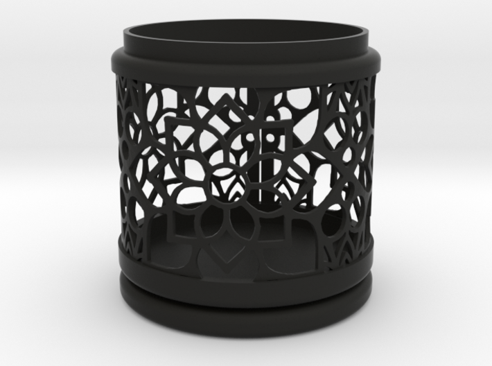 Gift Box No. 116 with Mosaic-2 (filigree, high) 3d printed