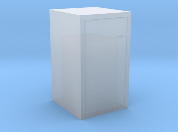 Mülltonne Griff links H0 und 0 3d printed